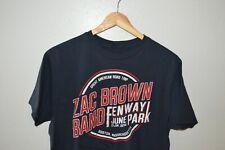 ZAC BROWN BAND Fenway park boston show T-Shirt Mens FITS MEDIUM