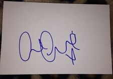 LOUISE REDKNAPP SIGNED 6X4 WHITE CARD TV AUTOGRAPH STRICTLY COME DANCING