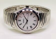 Ebel Classic Wave Swiss Made Mens Quartz Watch E9255F41.1 Stainless Steel Analog
