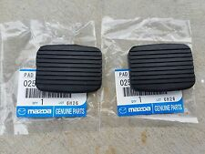 Mazda 1000 ute, 1200, 1300, 808 121 323 R100 RX3 RX5 Pedal Pads NEW