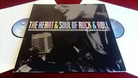 VARIOUS ARTISTS - THE HEART & SOUL OF ROCK & ROLL - DOUBLE LP IN GATEFOLD SLEEVE