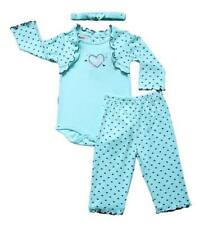 "Scooters 2-pc Set Baby Girl Clothes ""Little Sweetheart"" (Aquamarine), 6-9 months"