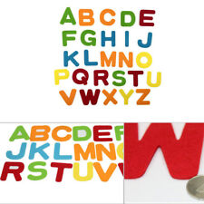 26pcs Alphabet Non Woven Felt Fabric Sheets For DIY Craft Scrapbook Multi-shapes
