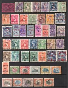 Guatemala 1897-1922 Collection 118 Stamps Mint or Used CV$240
