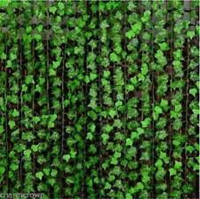 7.8ft Artificial Ivy Leaf Plants Fake Hanging Garland Plants Vine Home Decor