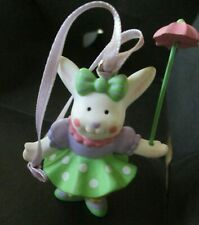 VINTAGE AVON THE GIFT COLLECTION*EASTER DECORATION GIRL BUNNY*NEW*1991*OLD STOCK