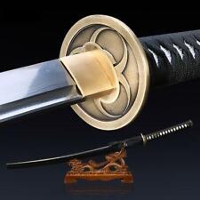 Handmade Damascus Steel Real Katana Japanese Samurai Sword