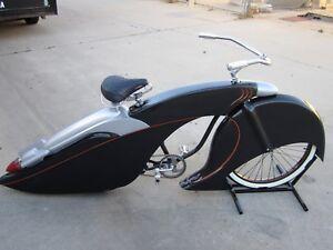 "Custom Fiberglass 26"" bicycle body kit lowrider adult size cruiser paperboy"