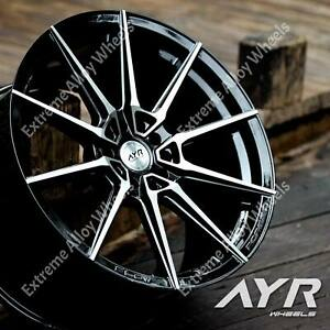 """Alloy Wheels 18"""" Ayr 01VF For Lexus Es Gs Is Ls Rc Rx Sc Models 5x114 Wr"""