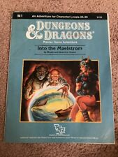 M1 INTO THE MAELSTROM DUNGEONS & DRAGONS TSR 9159 6 MASTER GAME ADVENTURE MODULE