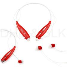 Auriculares rojos Universal para teléfonos móviles y PDAs