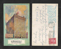 1957 THE ROOSEVELT THE PRIDE OF THE SOUTH NEW ORLEANS LA POSTCARD