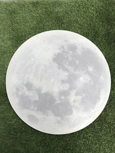 Giant Moon Halloween Outer Space Galaxy Nursery Magic Decoration Prop MDF HW ET