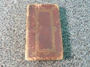 The Book Of Common Prayer Leather 1757