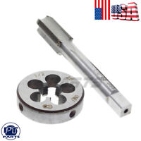 """HSS 1/2""""-28 Right Hand Gunsmithing Tap and Die Set  22LR 223 5.56 9mm(1/2"""" x 28)"""