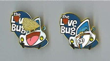 Disney Pin 39171 DLR DCA Cast Member Exclusive Herbie Love Bug Hinged Trunk *