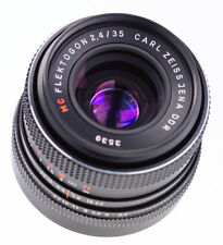 Carl Zeiss Jena Flektogon 35 mm f 2,4 Red MC M42 SN:3539 Top Prime Lens