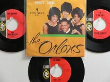 LOT OF 4  ' THE ORLONS ' HIT 45's+1PS[Not Me]     THE 60's!