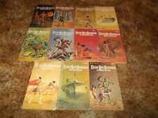 EDGAR RICE BURROUGHS~11 BOOK COLLECTION~COMPLETE MARS SERIES~GINO D'ACHILLE