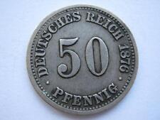 Germany 1876-C 50 Pfennig.