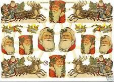 1 Bogen Glanzbilder Poesie Weihnachten ef 7260 Nr.367