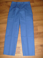 "Mens Royal blue work/driver trousers, Waist 32"" - 33"", Reg NEW,  Alexandra WL500"
