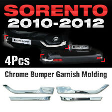 for KIA 2010-2012 Sorento R Chrome Side Bumper Guard Garnish Molding Cover C331