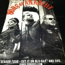 "SDCC 2012 SONS OF ANARCHY POSTER 13""x19"" SEASON 4 EXCLUSIVE DVD BLURAY FOX TV!!!"