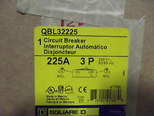 Square D  POWER PACT 225 Amp Breaker QBL32225  3 POLE 240VAC     NEW