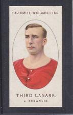 F & J Smith - Football Club Records (Different) 1922 # 21 Third Lanark