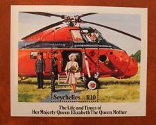 Seychellen  1985 Königin Elisabeth Block postfrisch** Queen