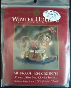 7x Bead Kit  Rocking Horse/Wagon/Clara/Prince/Nutcracker/Cottage/Nativity-AK175