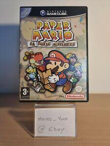 Paper Mario La Porte Millenaire Nintendo Gamecube Game Cube Gc Pal Fr Vf Fra