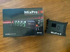 Sound Devices MixPre-6 Recorder Mixer USB Interface