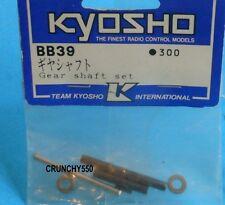 Kyosho BB-39 Gear Shaft Set Double Dare USA-1 Big Boss Big Brute Hi-Rider Vette