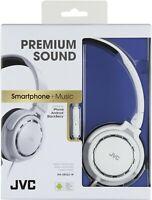 HiFi - HA-SR525-W-E On-Ear Leichtkopfhörer + Fernbedienung/Mikrofon #weiß [JVC]
