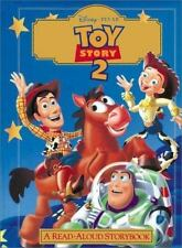 TOY STORY 2 A READ ALOUD STORYBOOK HC Disney Pixar hard cover book Buzz Woody