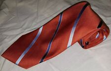 Nautica Blue striped and orange classic tie