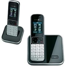 T-Sinus 605 Duo Schnurlos Telefon mit 2 Mobilteilen Schnurloses Gerät Handteile