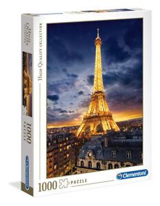 Clementoni 1000 Piece Jigsaw Puzzle - Tour Eiffel