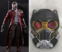 Guardians of the Galaxy Star-Lord Latex Mask Helmet Halloween Cosplay Prop