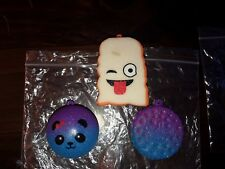 Squishy Food SET 3 Scented Slow Rising Squeeze Stress Reliever Decompress Toy US