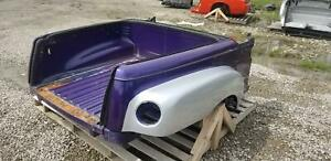 2003-2006 Chevrolet SSR OEM Rear Clip Bed Quarter Panel Panels Quarters Purple