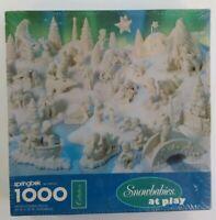 Snowbabies at Play 1000 Piece Puzzle Springbok Hallmark New Sealed 1995 Dept 56