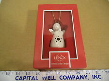 Lenox American by Design Angel Wishes Star Bell Christmas Ornament - New