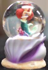 Disney Ariel on a Shell Mini Snowglobe