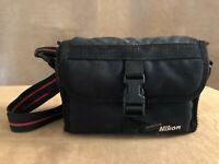 Nikon black vintage camera storage case padded one touch 200 35 mm film