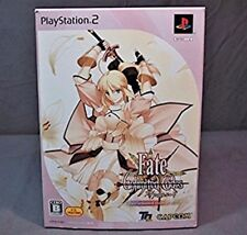 Used PS2 Fate Unlimited Code SP-Box w/Figma Limited Version F/S Track