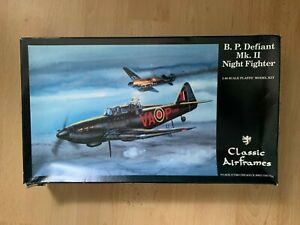 1/48 Scale Classic Airframes Boulton Paul Defiant Mk.ll Night Fighter