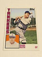 2012 Topps Archives Baseball Base Card #189 - Babe Ruth - New York Yankees